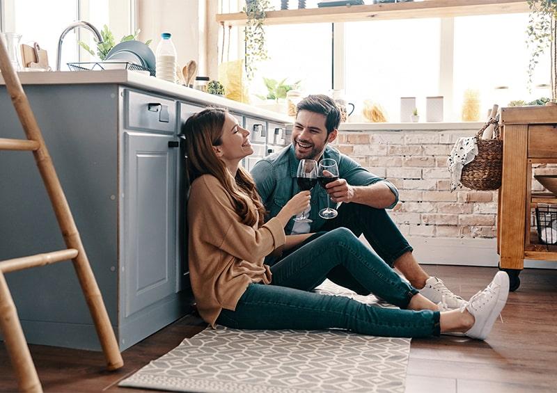 Détendez-vous dans votre cuisine Bauformat !